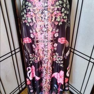 NWOT Beautiful Flamingo Skirt